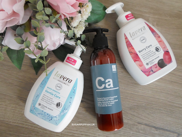 Reviews for Love Lula - Dr Botanicals Cocoa & Coconut Superfood Hydrating Body Lotion and Lavera Berry Care & Gentle Care Hand Wash