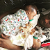 Paul Okoye Of Psquare Shares A Heartmelting Photo Of His Twins Cuddled Up On His Chest While Making A Shoutout To His Late Mum
