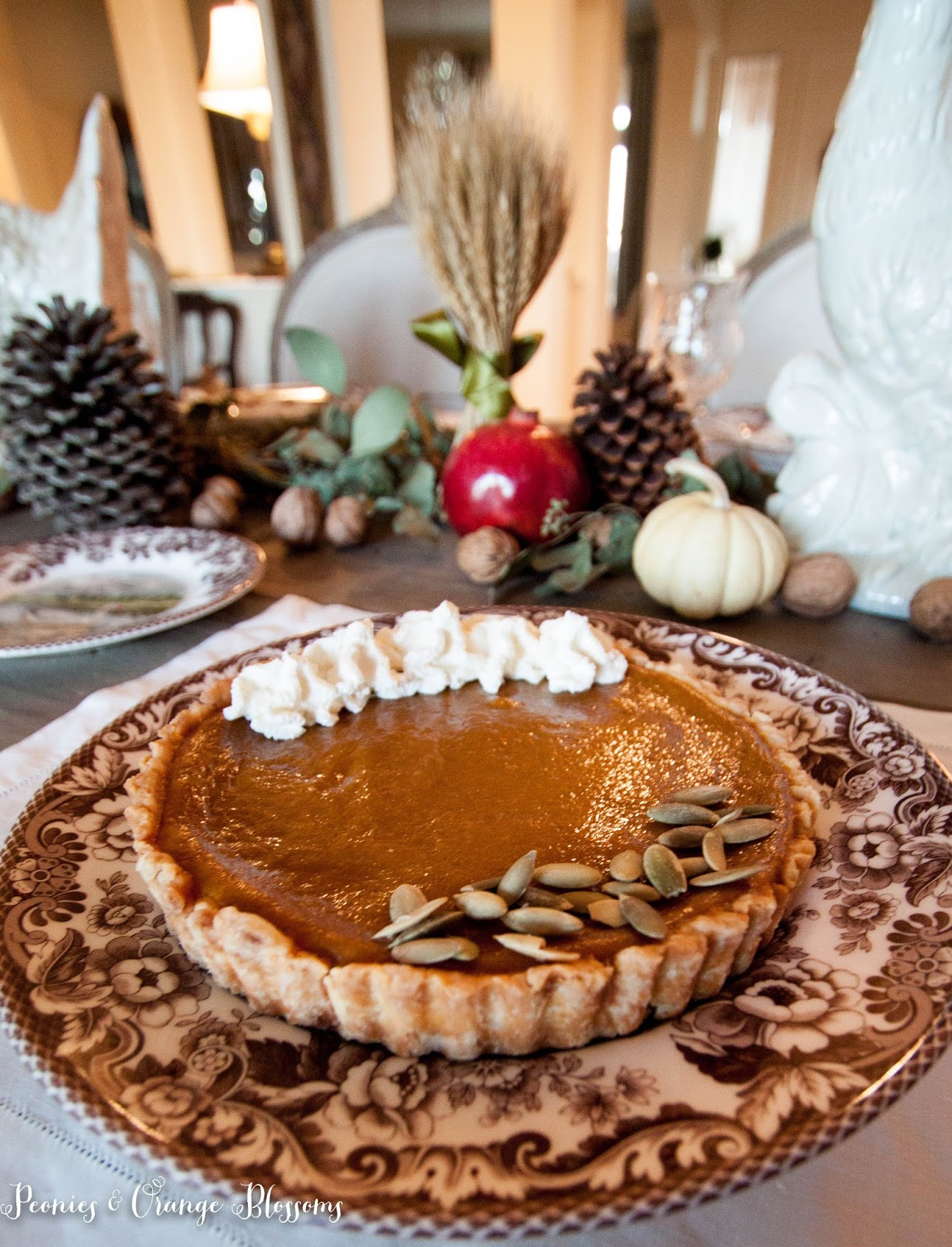 A delicious pumpkin tart recipe