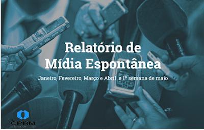 Relatório mostra aumento de presença na mídia do Serviço Geológico do Brasil