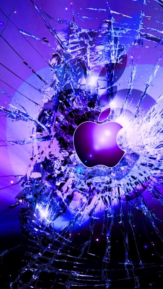 Papel De Parede Tela Quebrada MAC iPhone