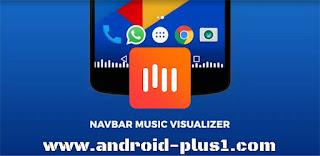 تطبيق MUVIZ Nav Bar Audio Visualizer لإضافة شريط تاثيرات الموسيقى اسفل شاشة اجهزة الاندرويد