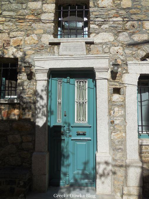 turkustow drzwi, okran z kratami, dom K.Kolumba
