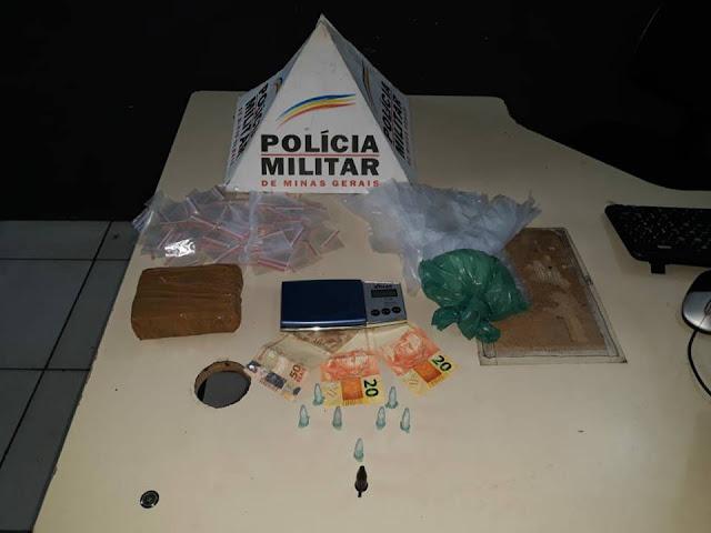 Suspeitos são presos acusados de tráfico de Drogas no Bairro Asteca