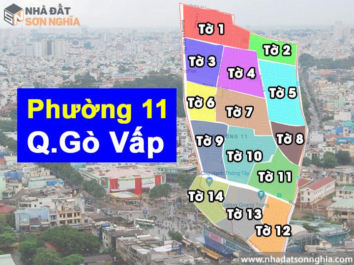 Thông tin quy hoạch phường 11 quận Gò Vấp