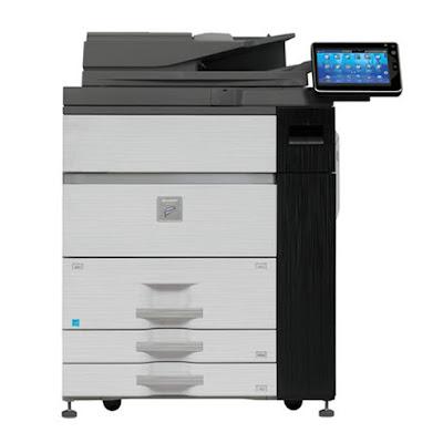 Mono Laser Multifunction Production Printer Sharp MX-M904 Driver Downloads