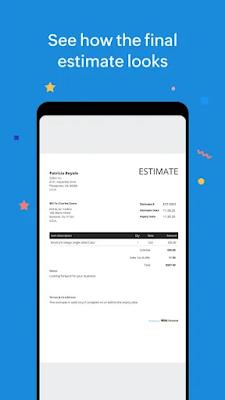 Screenshot Free Estimate Generator - Apcoid