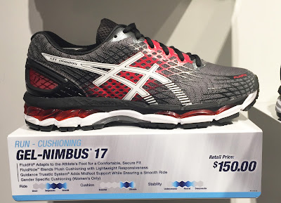 asics gel nimbus 17 vs 18