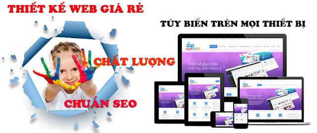 Thiết kế web tại Lạng Sơn lĩnh vực bán hàng quần áo online