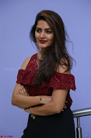 Pavani Gangireddy in Cute Black Skirt Maroon Top at 9 Movie Teaser Launch 5th May 2017  Exclusive 038.JPG