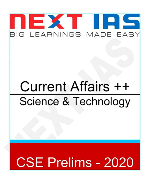 Science and technology Current Affairs : For IAS Exam PDF Book