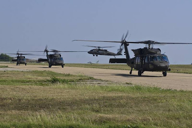 US Army Blackhawk helicopter