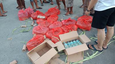 Polres Kepulauan Sangihe Amankan 213 liter Cap Tikus dan 100 kg Sianida