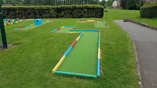 Crazy Golf at Eureka Park in Swadlincote