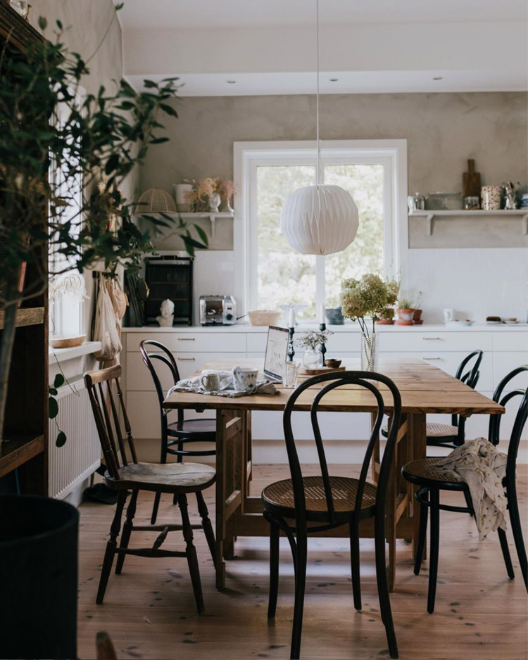 A Warm Swedish Family Home Full of Texture