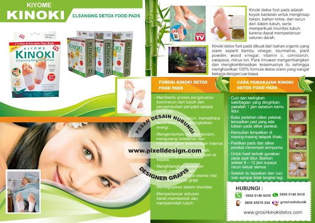Iklan Alat Kesehatan Detok Kinoki