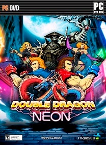 Double Dragon Neon PC Game Cover Double Dragon Neon RELOADED