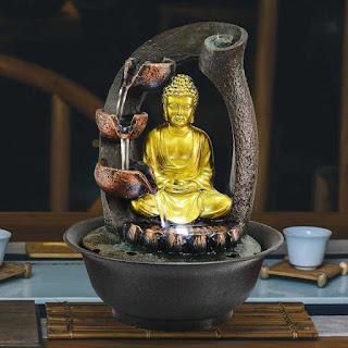 Gracefull buddha water fountain