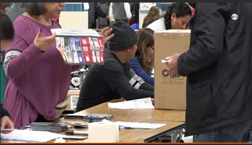 El voto de los bolivianos fue manipulado de forma física e informática para favorecer al MAS / VOA
