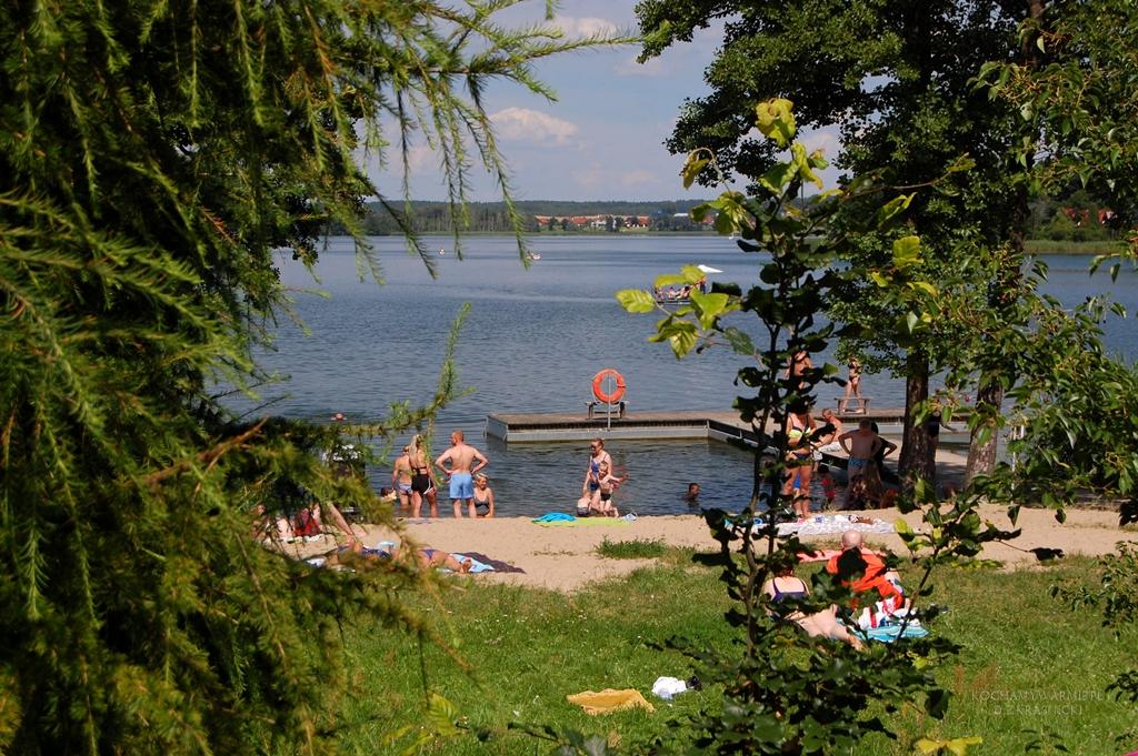 Jezioro Wulpinskie | Majdy, plaża