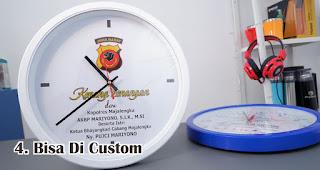 Jam Dinding Merupakan Souvenir Yang Bisa Di Custom