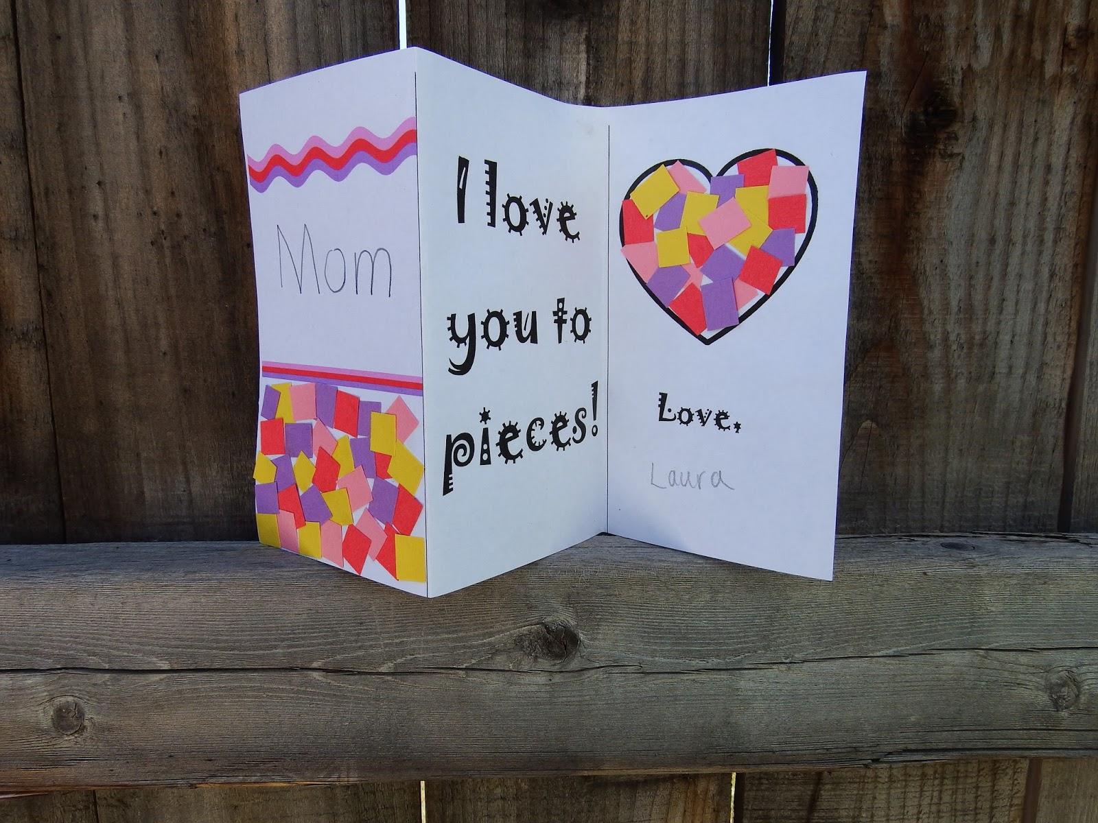 Chipman S Corner Preschool Mother S Day Card