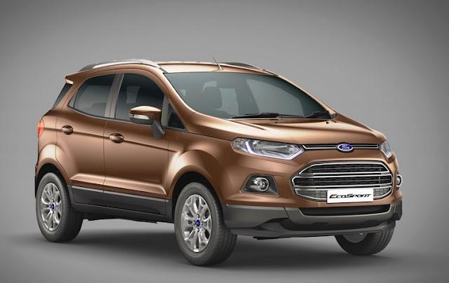Triệu hồi hơn 720 chiếc Ford Ecosport tại Việt Nam