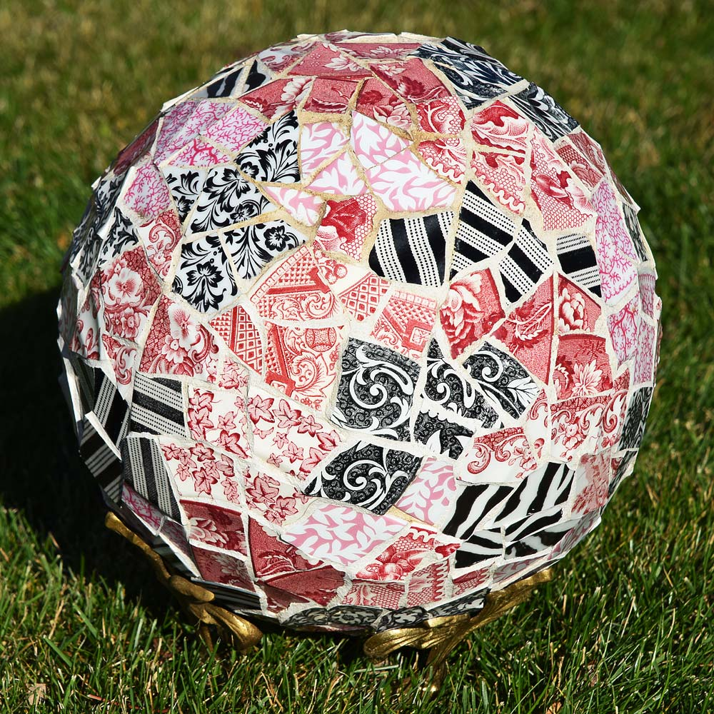 Valentine Mosaic bowling ball