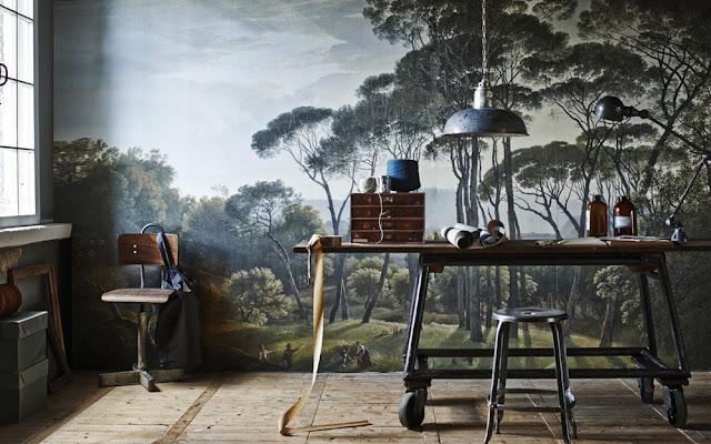 Collectif Project Inside / Une fresque murale pour une touche d'exotisme /