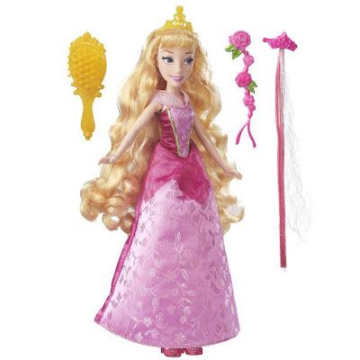 JUGUETES - PRINCESAS DISNEY Muñeca Aurora: Mis Peinados de Princesa Hasbro B6907 | A partir de 3 años Comprar en Amazon España