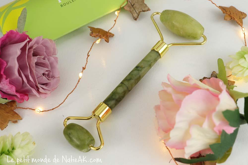 bienfait du rouleau de jade