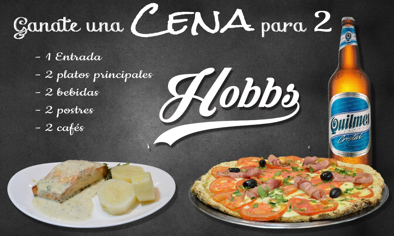 hobbs Restaurante Palermo Envio a Domicilio, Delivery Online, Bar, Café, Pizza, Pastas, Mariscos