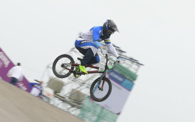 Anderson Ezquiel, do BMX