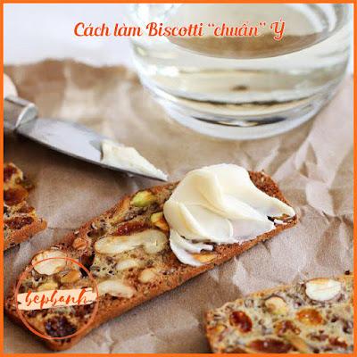 3 công thức làm bánh Biscotti 1