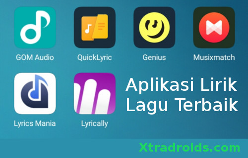 6 Aplikasi Lirik Lagu Terbaik Android