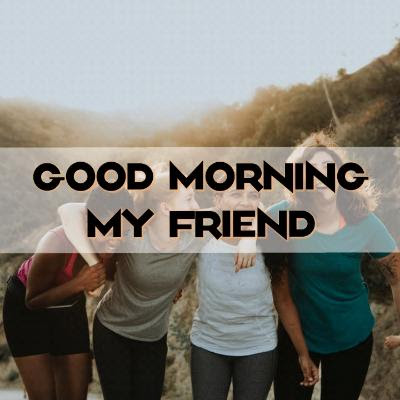 good morning images of friendship