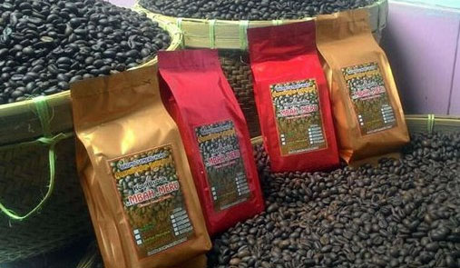 Salahsatu produk kopi dari Lumajang