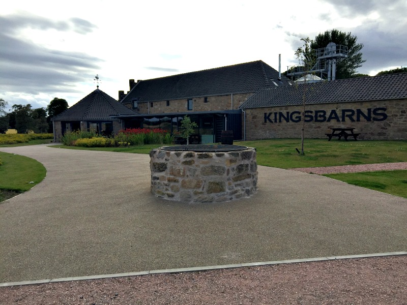 Kingsbarns whisky distillery