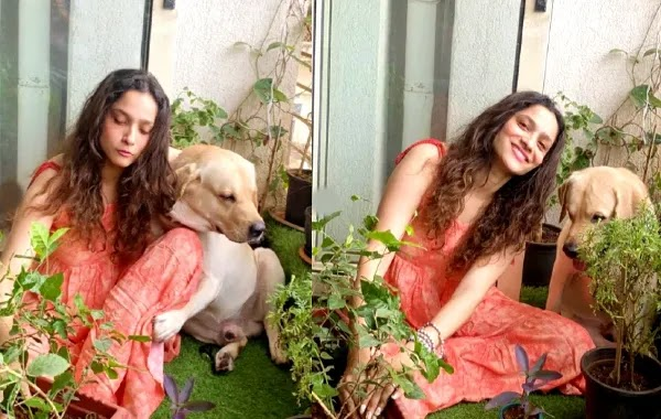 Ankita Is Fulfilling Sushant's Unfulfilled Dream By Planting 1000 Trees With Her Own Hands