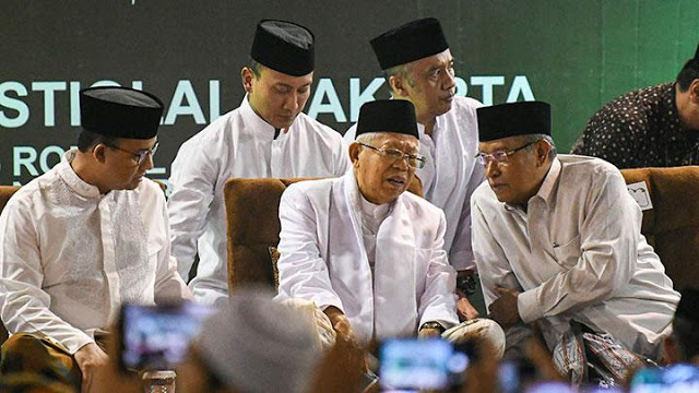 Tak Mau Kalah dari Jokowi, Wapres Juga Tunjuk 8 Staf Khusus