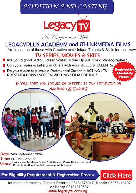Legacy TV Audition And Casting