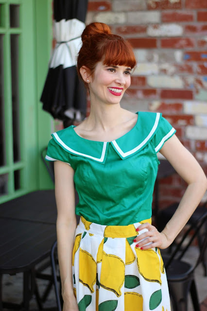 Aye Aye on the Prize Green Sailor Top Blouse from ModCloth