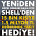 Shell ile 1,5 Milyon TL Hediye