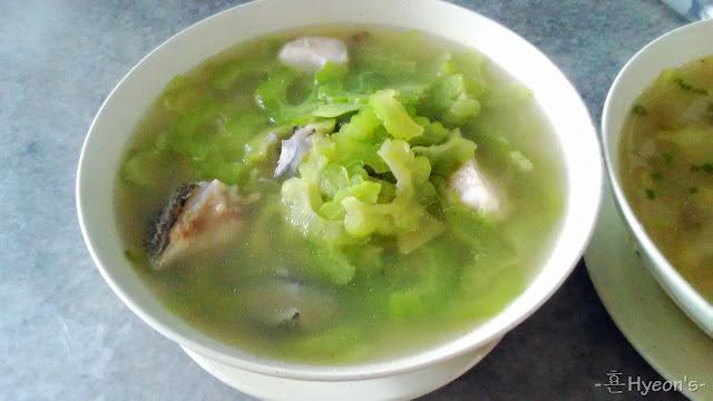 Mee Hoon Sup Ikan Sabah Keratang Peria, Sabah Keratang