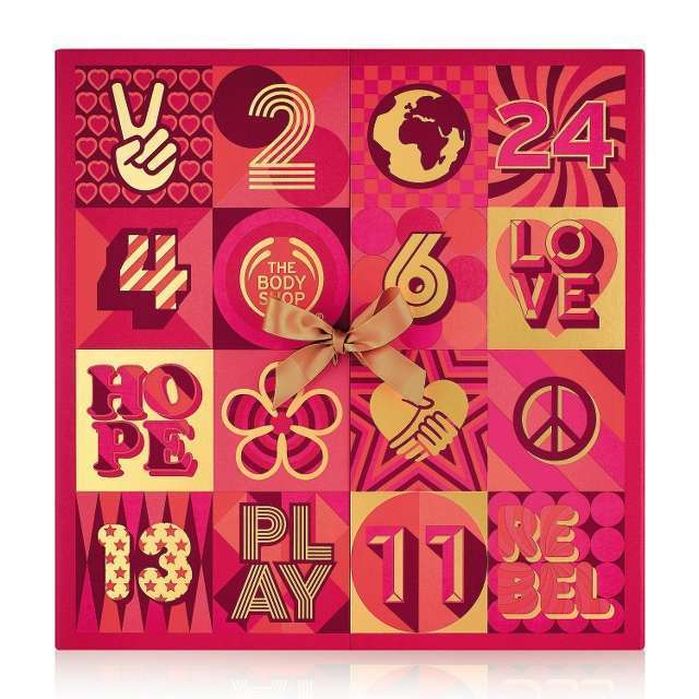 The Body Shop 25 Days of Game-Changing Advent-ure Ultimate Advent Calendar