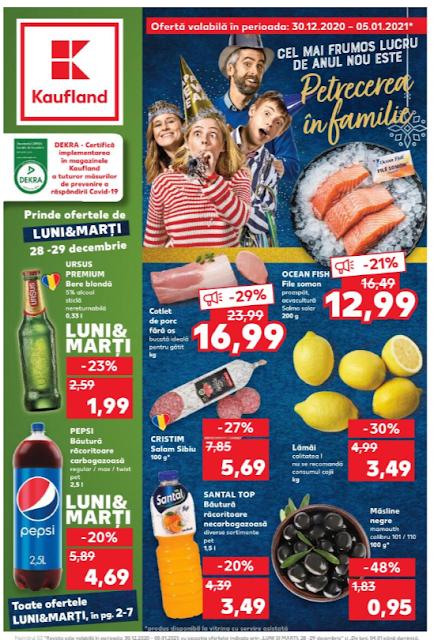 Kaufland Promotii + Catalog-Brosura 30.12 2020 - 05.01 2021