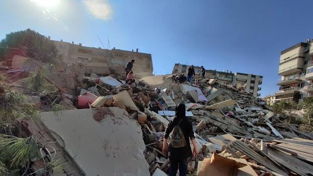 Se incrementa a mas de 15 el número de muertos por terremoto en Turquía