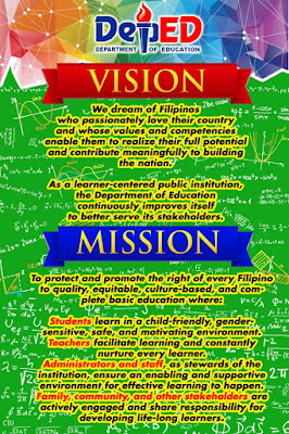 BULLETIN High Resolution DepEd Mission - Vision - Core ...