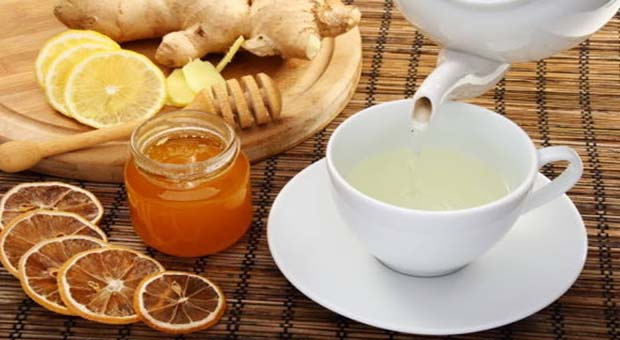 Method: Crush little amount of ginger thoroughly and let it boil in a cup of water for 5 minutes. Then cool it after taking it away from the stove and mix little amount of honey well in it and use this tea twice daily. Besides, tea, the ginger can also be used in salads and meals.