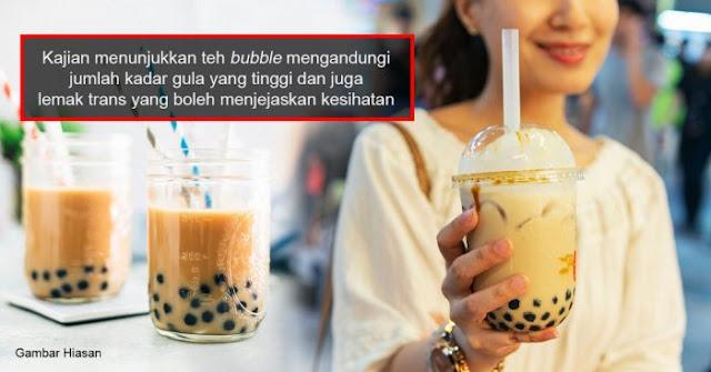 Bahaya Minuman Bubble Milk Tea
